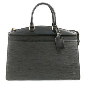 Authentic Louis Vuitton black Epi riviera bag